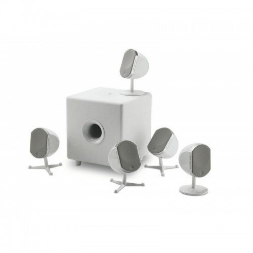 Zvočniki Hi-Fi FOCAL Little Bird Systeme White - 5.1