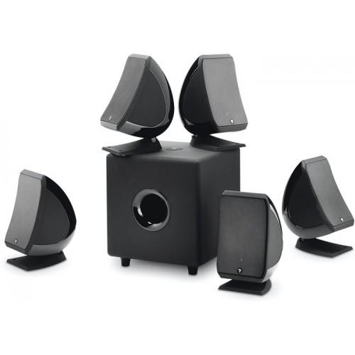 Zvočniki Hi-Fi FOCAL Sib & Cub3 - 5.1 Jet Black - komplet za domači kino