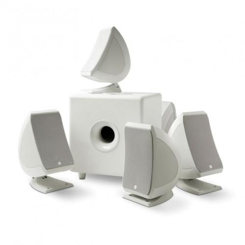Zvočniki Hi-Fi FOCAL Sib & Cub3 - 5.1 Pearl White - komplet za domači kino