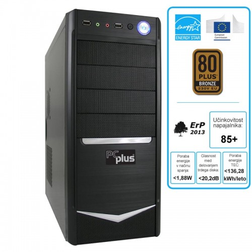 Osebni računalnik PCPLUS i3-4170 4GB 1TB