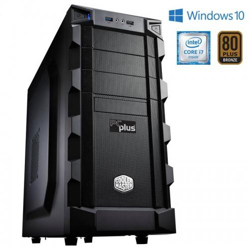 PCPLUS Dream Machine i7-6700 16GB 2TB 240GB SSD GTX 1070 8GB Win 10 + 1 leto Office 365 Personal
