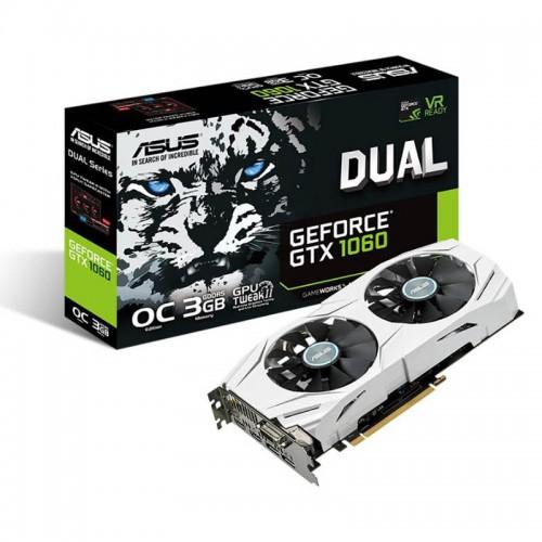 Grafična kartica ASUS GeForce GTX 1060 Dual OC 3GB GDDR5