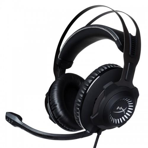 Gaming slušalke z mikrofonom HYPERX Cloud Revolver S (HX-HSCRS-GM/EM) USB črne