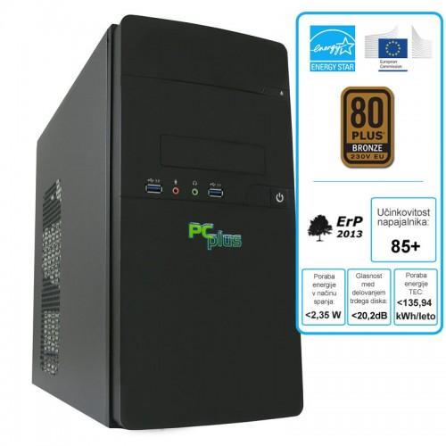 Računalnik PCPLUS Family G4600 4GB 1TB